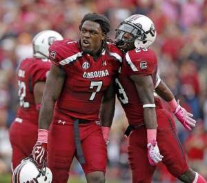 Clowney would have been the number 1 pick in this year's NFL Draft if he were eligible.